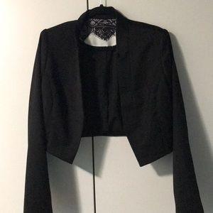 NWOT WHBM cropped blazer